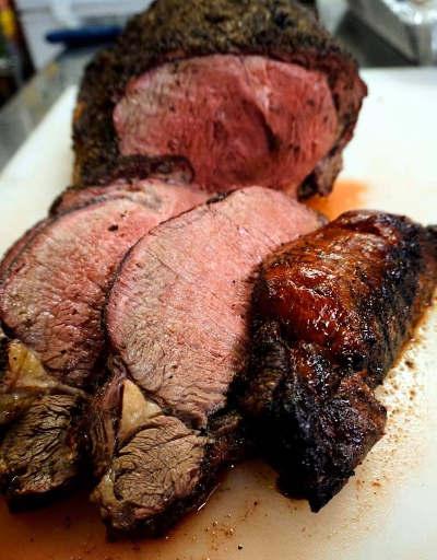 smoke primed rib beef